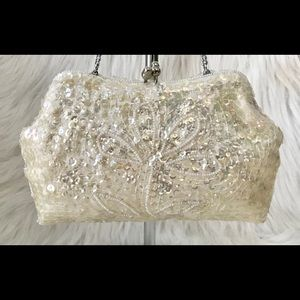 LA REGALE VINTAGE SEQUIN CLUTCH JAPAN